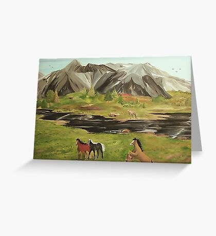 Wildlife Reserve Greeting Card