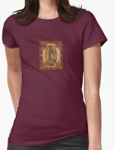 Lady of Guadalupe Womens Fitted T-Shirt
