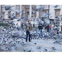 Pigeon Storm Photographic Print