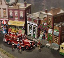 Miniature Fire Truck by Kenneth Hoffman