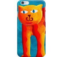 Curved Cats iPhone Case/Skin