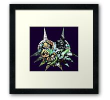 Majora's Mask - A mask for every moment Framed Print
