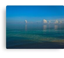 Cuba Floating Clouds Canvas Print