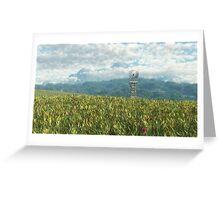 Le temps des moissons / Harvest Time Greeting Card