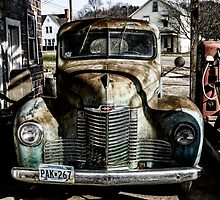 Vintage International pickup truck by woodnimages