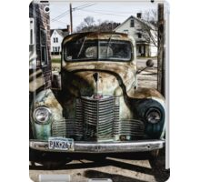 Vintage International pickup truck iPad Case/Skin