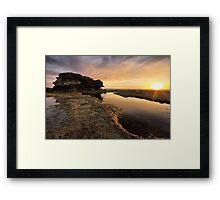 Tidal Dawn Framed Print