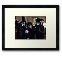 KISS in Cape Breton Framed Print