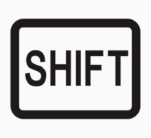 Shift button. Kids Clothes