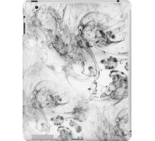 ink wash navy iPad Case/Skin