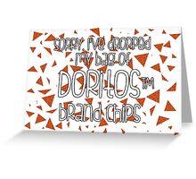 Oops, my Doritos! Greeting Card