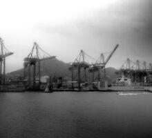 Hong Kong, Port by korm87