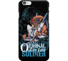 Original Alien Bird SOLDIER iPhone Case/Skin