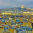 Rooftops of Paris by Ashley Ng