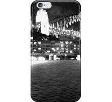 Sydney Harbour Bridge by Night iPhone Case/Skin
