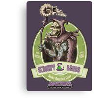 Snake Mountain Cider (grunge) Canvas Print