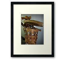 CORK SCREWS Framed Print