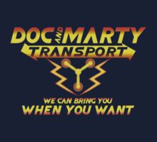 Doc & Marty Transport Kids Clothes