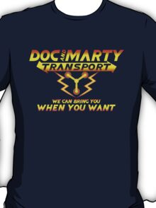 Doc & Marty Transport T-Shirt
