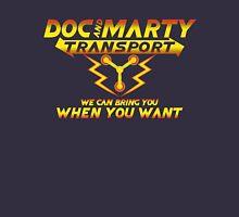 Doc & Marty Transport Unisex T-Shirt
