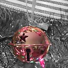 Christmas Bell (selective color) by Martha Medford