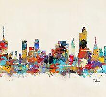 Tulsa Oklahoma skyline by bri-b