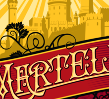 Martell Dornish Red Sticker