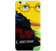 Retro The Great Gatsby Travel Poster iPhone Case/Skin
