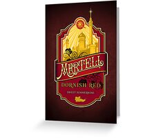 Martell Dornish Red Greeting Card