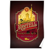 Martell Dornish Red Poster