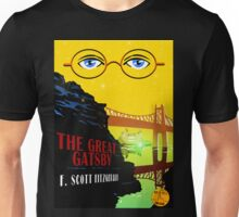 Retro The Great Gatsby Travel Poster Unisex T-Shirt