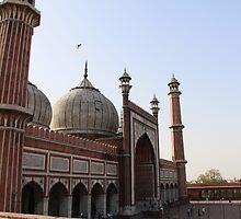 Jama Masjid by Ravi Kumar