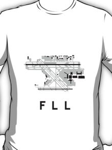 Fort Lauderdale Airport Diagram T-Shirt
