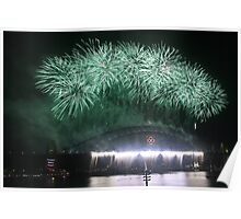 New Year's Eve: Green Poster