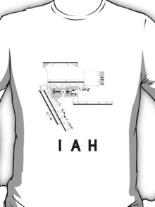 Houston Airport Diagram T-Shirt