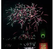 Colours of New Year's Eve Photographic Print