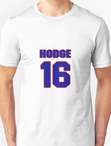 National football player Damon Hodge jersey 16 T-Shirt