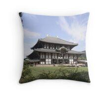 Todai-ji: The Temple of the Giant Buddha Throw Pillow
