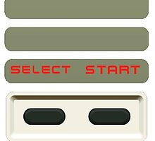 Select - Start NES Pad controller buttons. by 2monthsoff