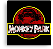 Monkey Park Canvas Print