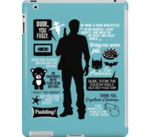 Dean Winchester Quotes iPad Case/Skin
