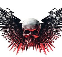 expendables skull - choose your weapon by maldrium