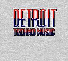 Detroit Techno Music Hoodie