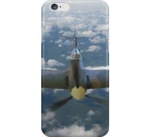 Spitfire Above the Clouds iPhone Case/Skin