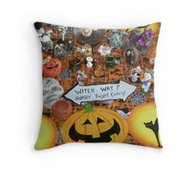 Halloween Collection Throw Pillow