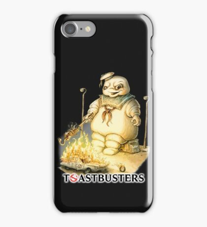 Toastbusters iPhone Case/Skin