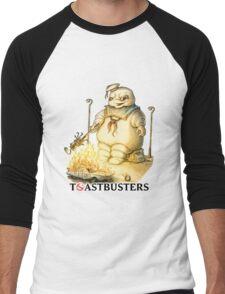 Toastbusters Men's Baseball ¾ T-Shirt