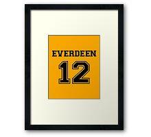Team Everdeen Framed Print