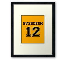 Team Everdeen Framed Print