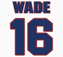 National football player Tommy Wade jersey 16 by imsport